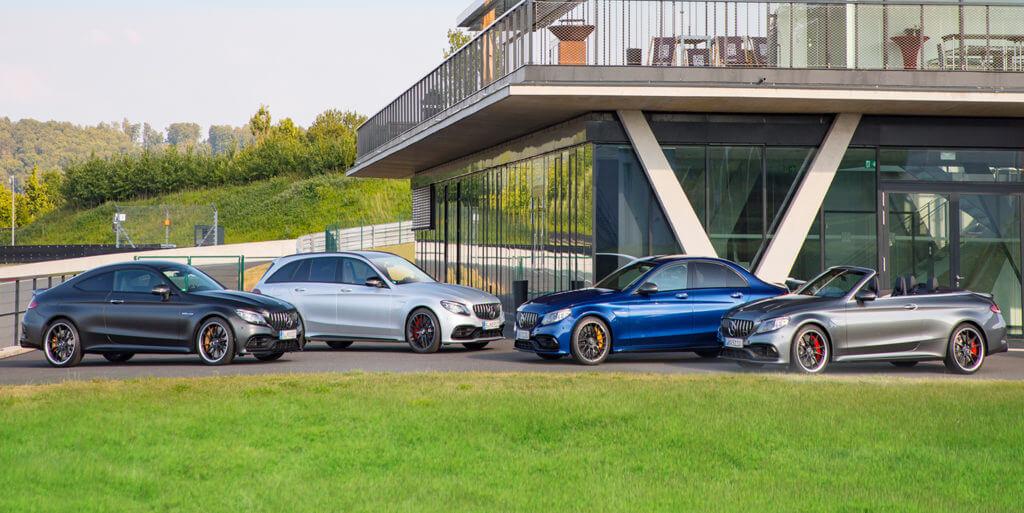 Née sous le signe du V8 AMG