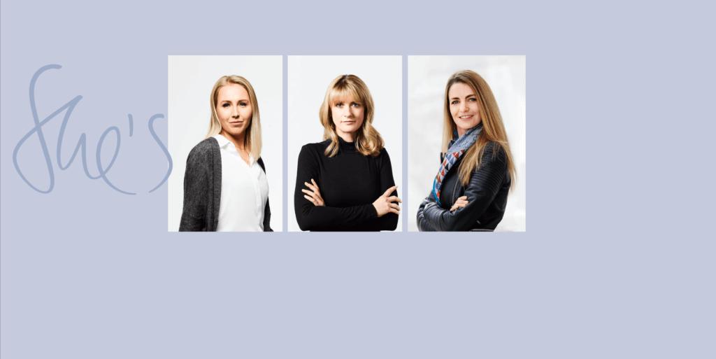 Trois femmes derrière la Nouvelle Classe A