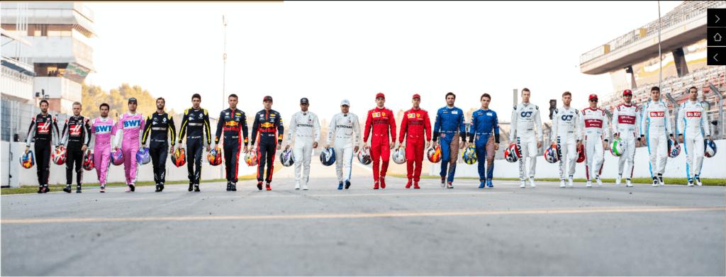 Saison 2020 de Formule 1 : nouveau départ !