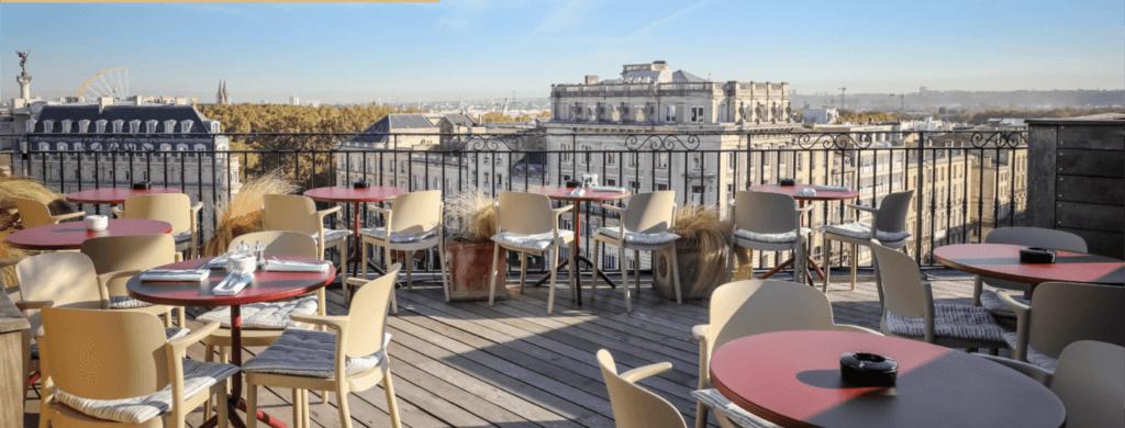 Hotspots : Bordeaux vu du ciel