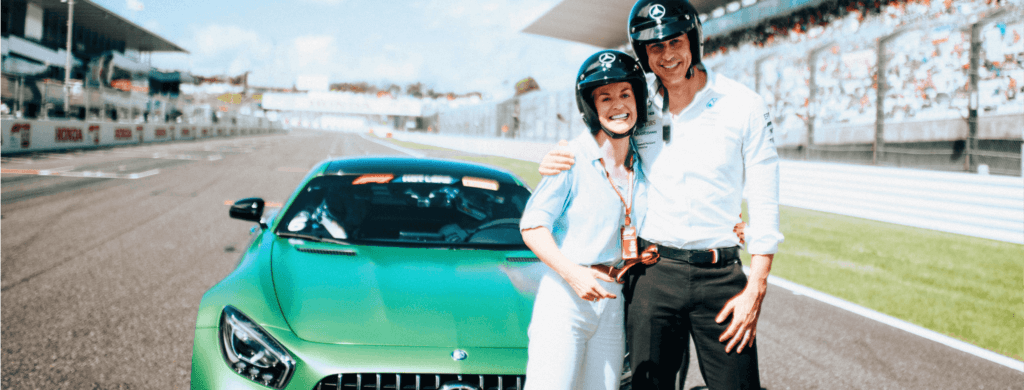 Interview de Susie et Toto Wolff