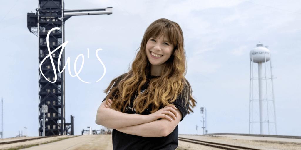 Hayley Arceneaux, future astronaute après un cancer